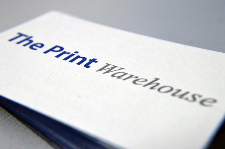 Letterpress business cards letter press business card uk letterpress business cards reheart Gallery