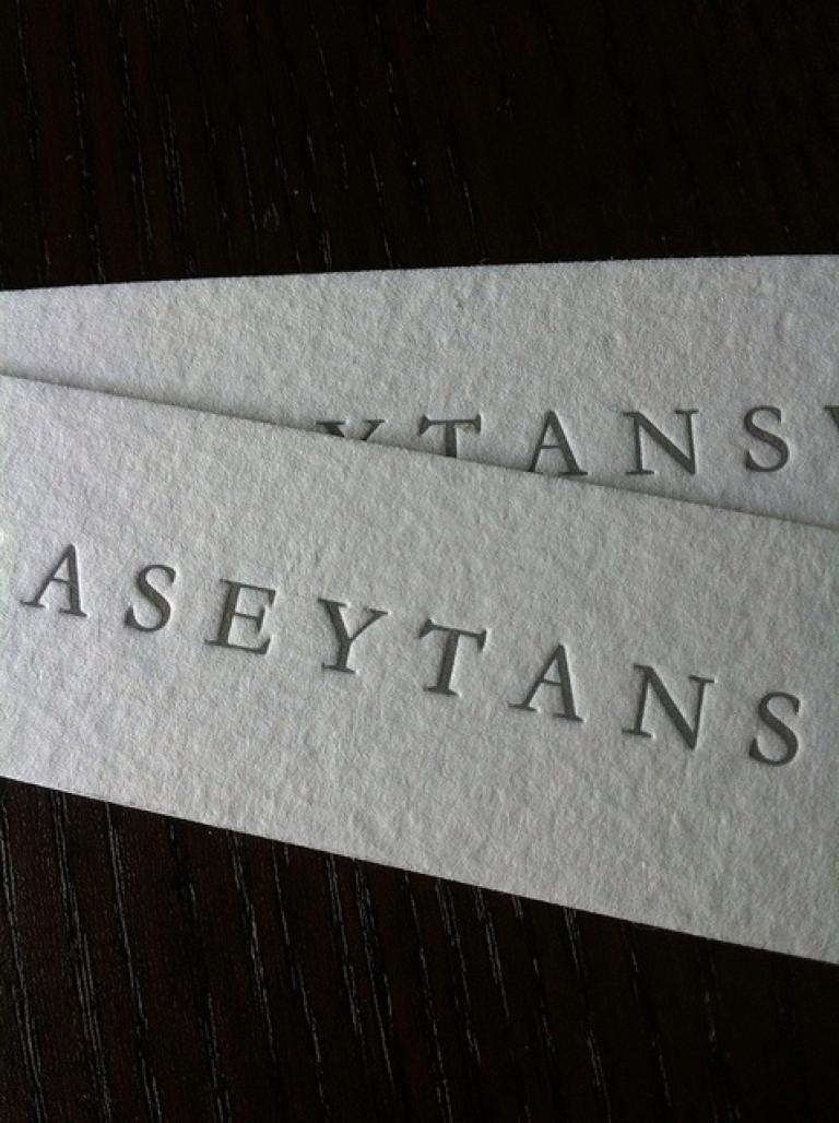 letterpress business cards, letter press business card, uk ...