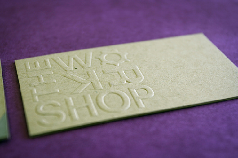 Embossed business cards uk quality debossing printing company embossed business cards reheart Images