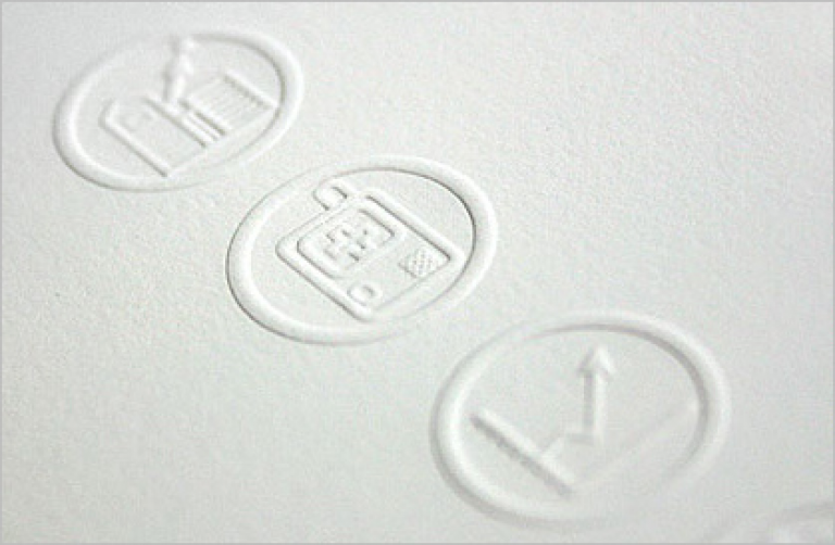 Embossed Business Cards Uk Quality Debossing Printing Company