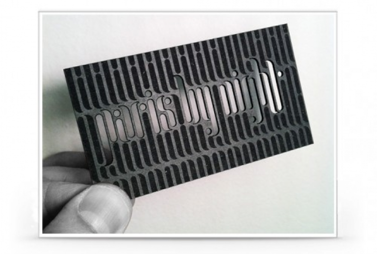 Die laser cut shaped business cards round corner circular shape card die cut business cards colourmoves