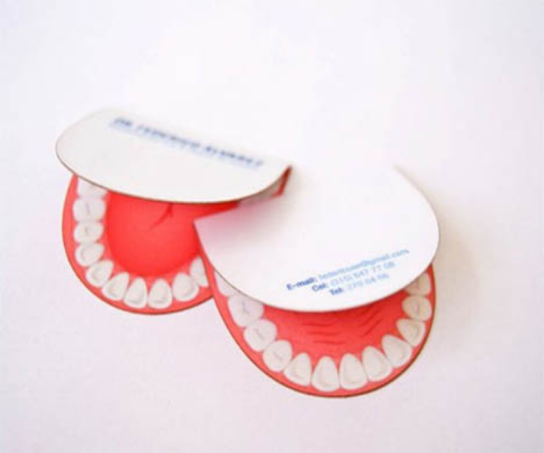 die laser cut shaped business cards round corner circular shape ...